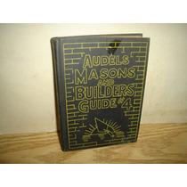 Inglés-libro, Construcción De Casas-audels Masons & Builders