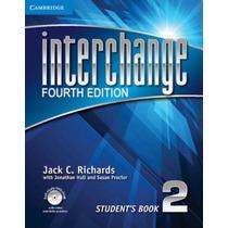 Libros Interchange Nivel 2 4ta. Edición, Con Audio Y Video