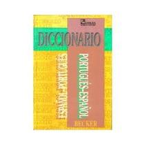 Diccionario Portugues-espanol, Espanol-portugues, Becker