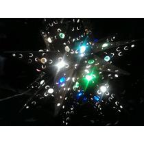 Lámpara De Lámina, Forma De Estrella, Con Canicas De Vidrio