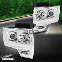 Ford F150 Faros Proyectores Estilo Transformer Unicos
