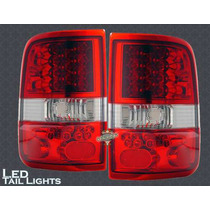 Calaveras Rojas Led Ford Lob F150 King 04 05 06 07 08 Lariat