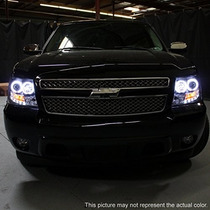 Luces Chevy Tahoe Avalanche Twin Halo Led Projector
