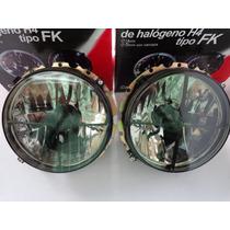 Faros Tipo Fk 7 Pulgadas Vocho Combi Golf Safari Universal