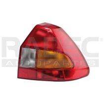 Calavera Ford Ikon Izquierda 2001-2002-2003 Ambar/bco/rojo