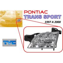 97-00 Pontiac Trans Sport Faro Delantero Lado Izquierdo Tyc