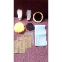 Kit Para Pulir Restaurar Faros Opacos Para Taladro 3 1/2 P