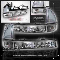 Cuartos Transparentes Dodge Dakota 97 98 99 00 01 02 03 04