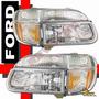 Combo!! Faros Transparentes + Cuartos Ford Explorer 95 96 97