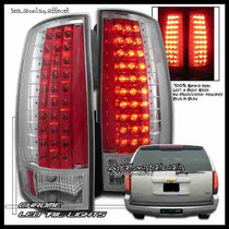 Calaveras Cromadas Led Chevrolet Suburban 07 08 09 Hid Xenon