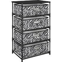 Altra Furniture 4-cuba De Almacenamiento Mesa Auxiliar De Ze