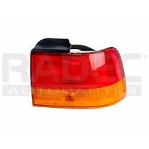 Calavera Exterior Honda Accord 92-93 2y4 P Ambar/rojo Der