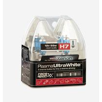 Halógena H7 - Bulbos Plasma Super White 55w 12v 2 Pcs