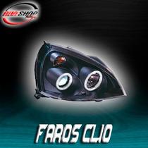 Faros Para Clio Con Ojo De Ángel Mod. 2003 -2008