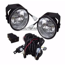 Kit Faros De Niebla Frontier 2001 A 2004 C/cables Y Switch