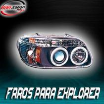 Faros Para Explorer Con Ojo De Ángel Mod. 1995- 2001