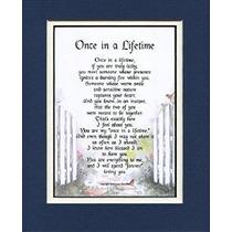Regalo Para Un Esposo O Esposa # 78 Poema Doble Enmarañado E