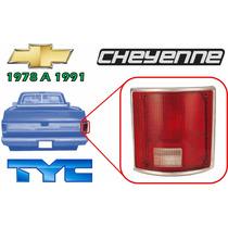 78-91 Cheyenne Calavera Trasera Filo Cromado Derecho Tyc