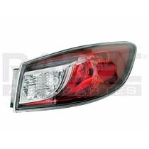 Calavera Exterior Mazda 3 2010-2011-2012-2013 4 Puertas Der
