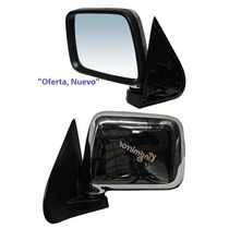 Espejo Chevrolet Luv 97-05 S/cont Cromado Izquierdo