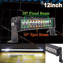 Barra Led Delgada Slim 12 Pulgadas Combo Flood Spot 60w
