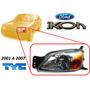 01-07 Ford Ikon Faro Delantero Cuarto Ambar Izquierdo Tyc
