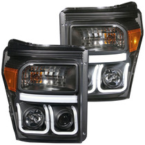 Faros Lupa Led U Ford F250 F350 2011 2012 2013 2014 2015
