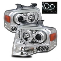 Faros Lupa Led Ojo Angel Ford Expedition 2007 2008 2009 2010