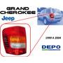 99-04 Jeep Grand Cherokee Calavera Trasera Izquierdo Depo
