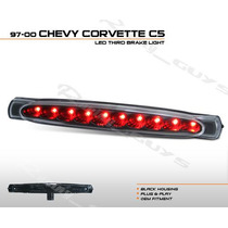 Luz Stop Led Negra Chevrolet Corvette 97 98 99 00 01 02 03