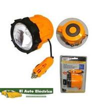 Lampara Emergencia Iman 12 Volts Encendedor Auxilio