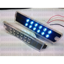 Cuarto Defensa Ancha Vw Golf Jetta A2 Leds Fibra De Carbono