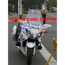 Codigos Estrobos Motocicletas 4 Leds 3era Gen Policia Vv4
