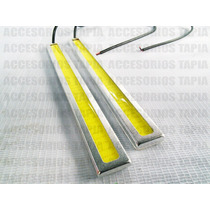 Estrobos De Leds Ultra Brillantes Universal Rectos P/defensa