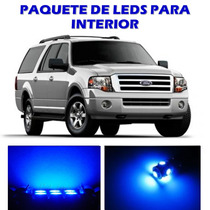 Ford Expedition 2003 2013 Paquete Led Para Interior Kit Azul