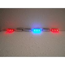 Estrobos De Leds Para Montaje Policia Escoltas