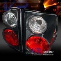 Calaveras S 10 Sonoma Gmc Fondo Negro Y Cristal