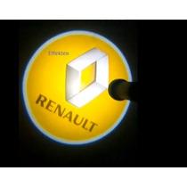Logo De Tu Auto Iluminado * Renault Clio Megane
