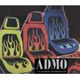 Funda Auto Hilo Neon 100% Tuning Para Presentaciones Nigth