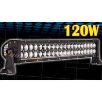Barra De Led 22 Pulgadas 120w Flood/spot Gratis Switch Arnes
