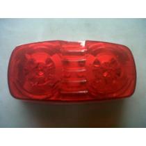 Plafon Lateral 10 Led Rojo