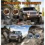 Faro Led Jeep 1997- Unidad Principal 7 Halo Ojo De Angel