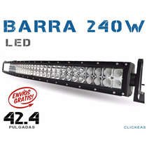 Barra Led Curva 240w 42.2 Pulgadas Todo Terrenos 4x4 Jeep