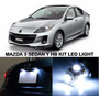 Kit De Luces Led Mazda 3 2010 Al 2012 Interior, Portaplacas