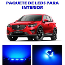 Mazda Cx5 2013 2016 Paquete Led Para Interior Kit Azul Cx-5