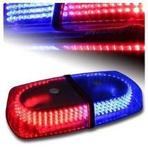 Torreta Ambar 240 Leds Estrobo Luces De Emergencia Magnetica