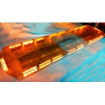 Torreta 72 Leds Ámbar Mica Transparente/ámbar De 18 Funcione