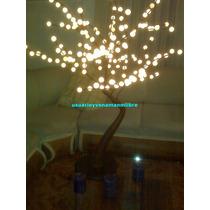 Arboles Grandes Con Luces Copo Nieve Para Exteriores Mma