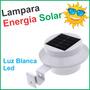 Lampara Led Solar Contra Agua Y Polvo, Casa, Calle Y Jardin