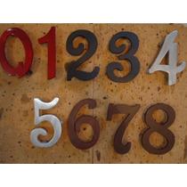 Numero De Aluminio Modelo French Script